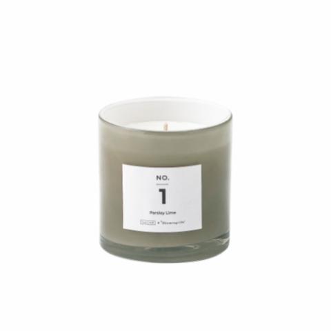 NO. 1 - Parsley Lime Scented Candle, Natural wax