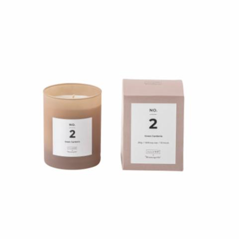 NO. 2 - Green Gardenia Scented Candle, Rose