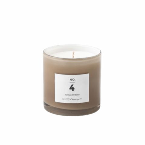 NO. 4 - Lemon Verbena Scented Candle, Soy wax