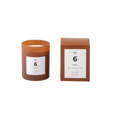 NO. 6 - Sequoia Scented Candle, Natural wax