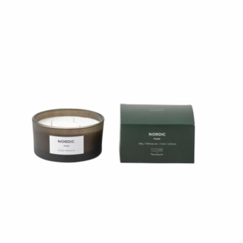 NORDIC - Forest Scented Candle, Natural wax