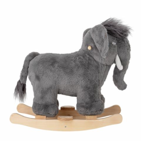 Calma Rocking Toy, Mammoth, Grey, Polyester