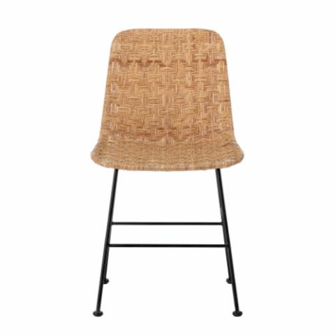 Kitty Dining Chair, Nature, Rattan
