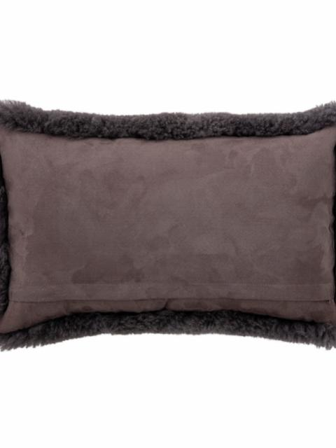 Cady Cushion, Grey, Sheepskin