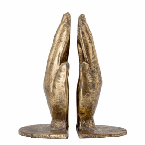 Anders Bookend, Brass, Metal