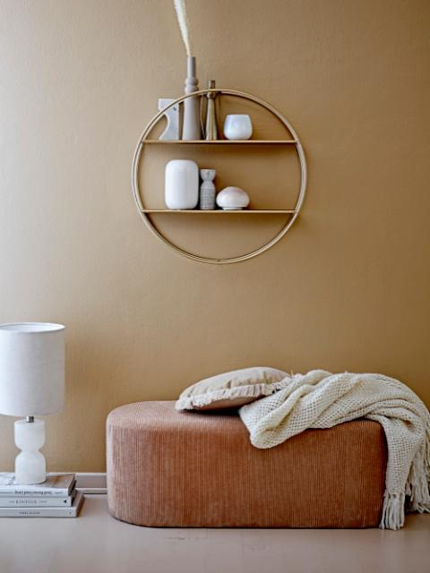 Guil Shelf, Gold, Metal