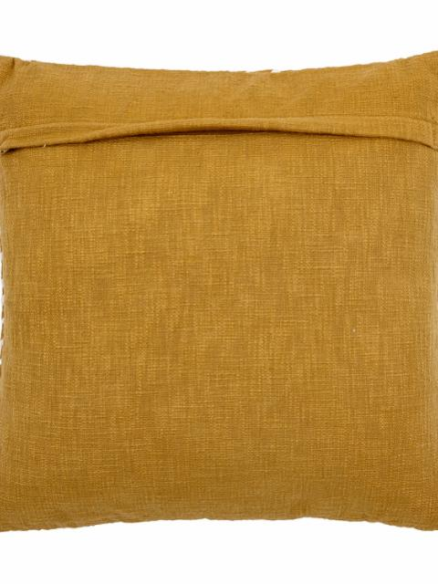 Giana Cushion, Yellow, Cotton