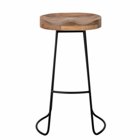 Alaya Bar Stool, Nature, Mango
