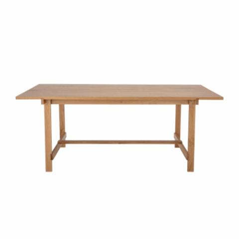 Nelson Dining Table, Nature, Oak Veneer