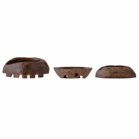 Barfina Deco, Brown, Recycled wood