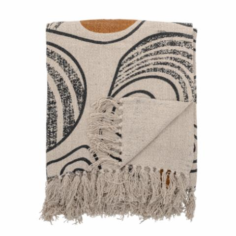 Giano Throw, Nature, Recycled Cotton