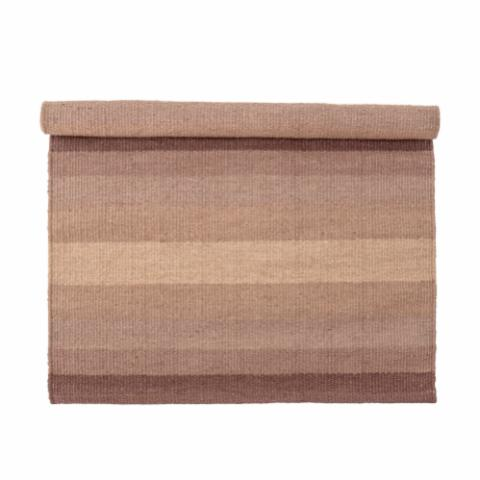 Huntley Rug, Brown, Jute