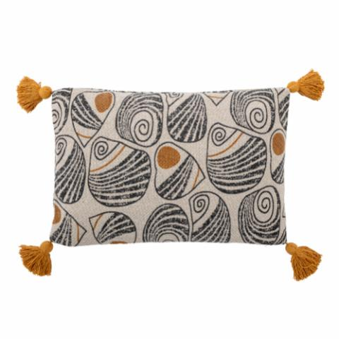 Giano Cushion, Yellow, Recycled Cotton