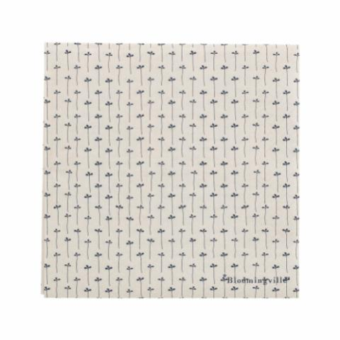 Hasse Napkin, Blue, Paper