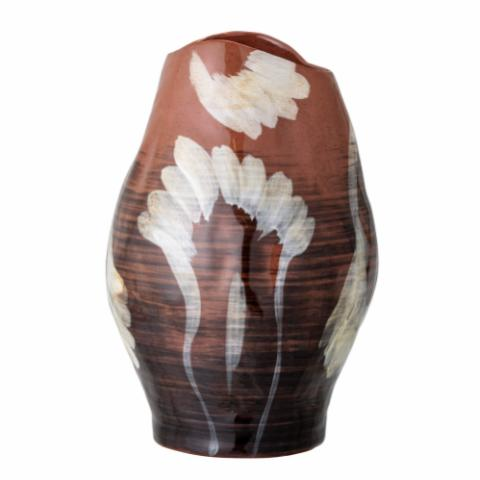 Obsa Vase, Brown, Stoneware