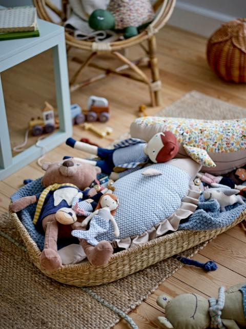 Coty Pull Along Toy, Grey, Beech