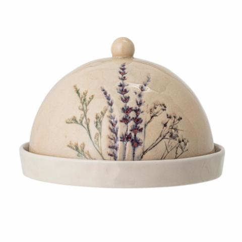 Bea Butter Dome, Nature, Stoneware