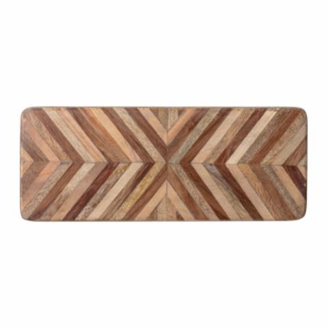 Elny Cutting Board, Brown, Mango
