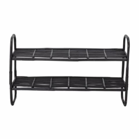 Zigge Shelf, Black, Cane