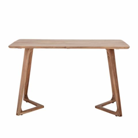 Luie Dining Table, Brown, Acacia