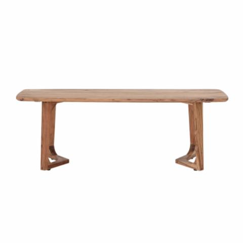 Luie Bench, Brown, Acacia