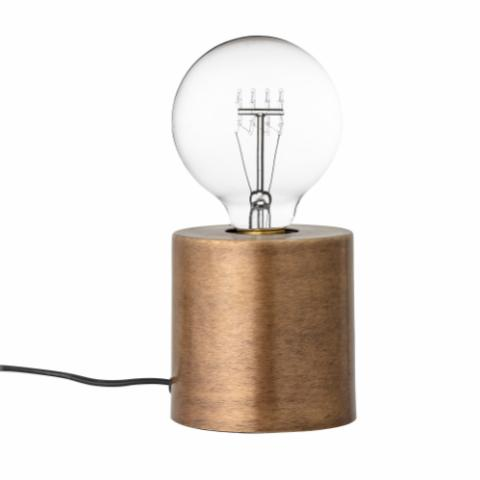 Ely Table lamp, Brass, Metal