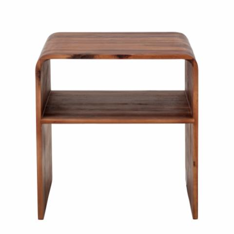 Hassel Sidetable, Brown, Acacia