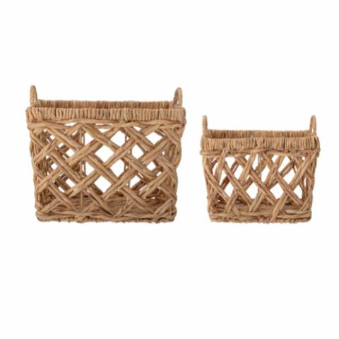 Sadia Basket, Nature, Water Hyacinth