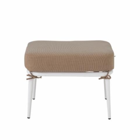 Cia Stool, White, Metal