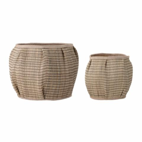 Diora Basket, Nature, Seagrass