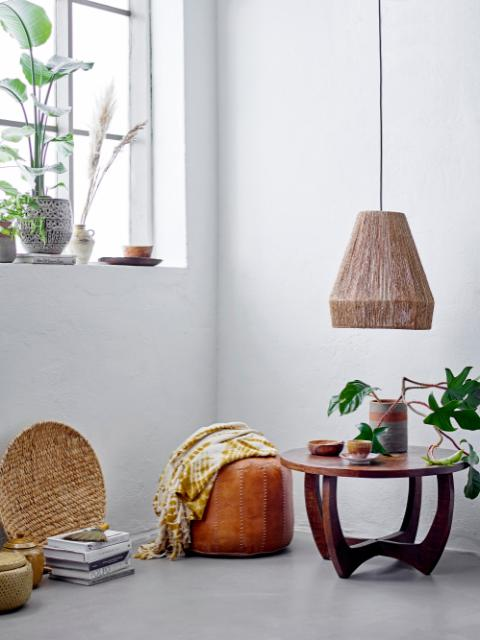 Ima Pendant Lamp, Nature, Jute