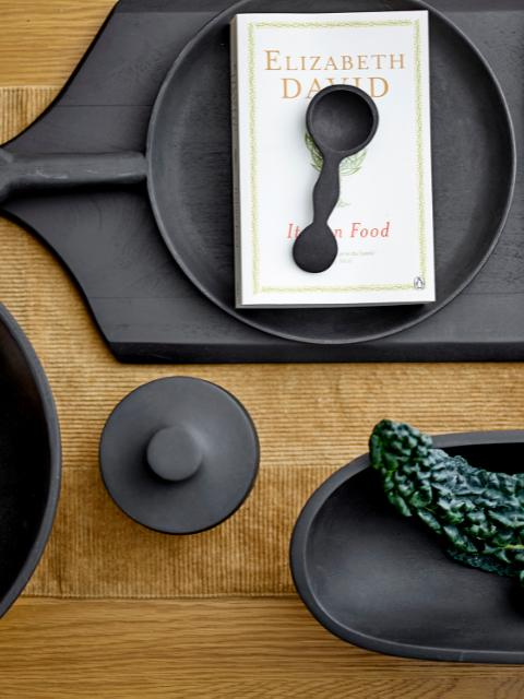 Eina Tray, Black, Mango