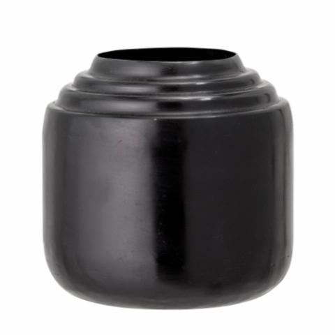 Marí Vase, Black, Metal