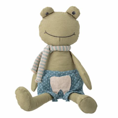 Freddy the tooth fairy Soft Toy, Green, Polyester