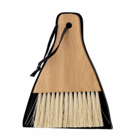 Cleaning Dustpan & Broom, Nature, Bamboo