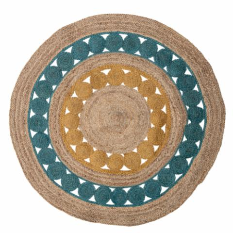 Marlin Rug, Multi-color, Jute