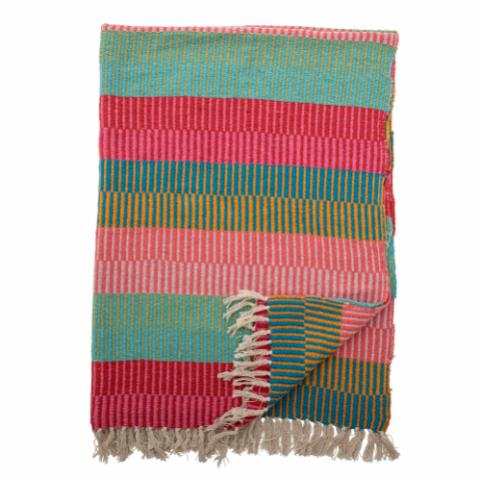 Isnel Throw, Multi-color, Recycled Cotton