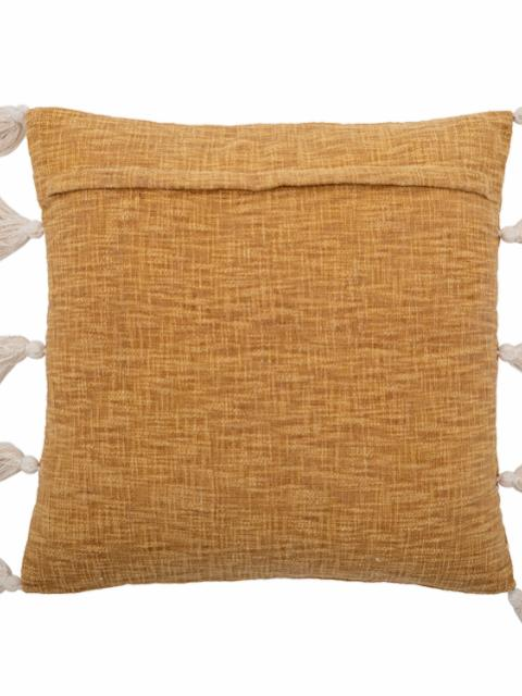 Emely Cushion, Yellow, Cotton