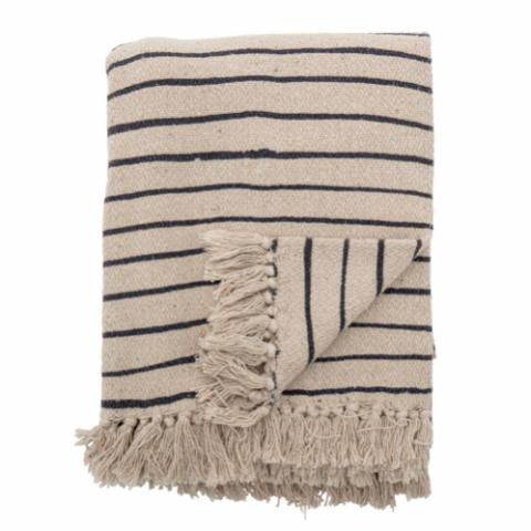 Eia Throw, Nature, Recycled Cotton