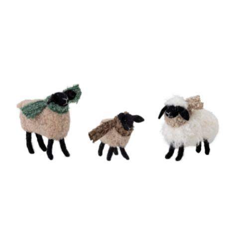 Pep Deco Sheep, Brown, Wool