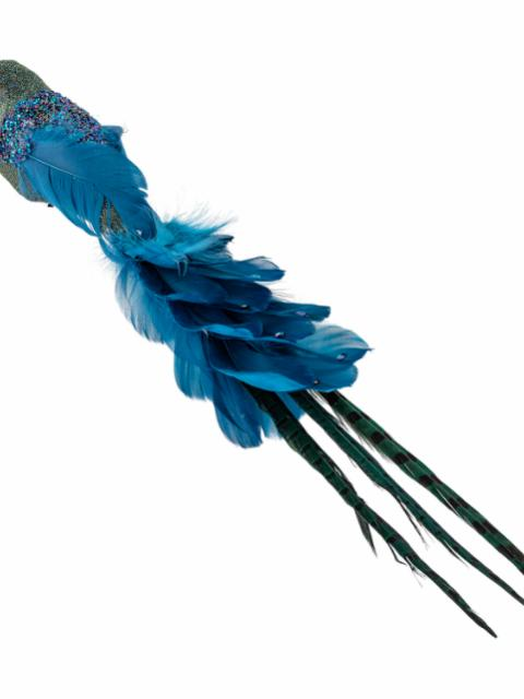 Payton Deco Bird, Blue, Feather