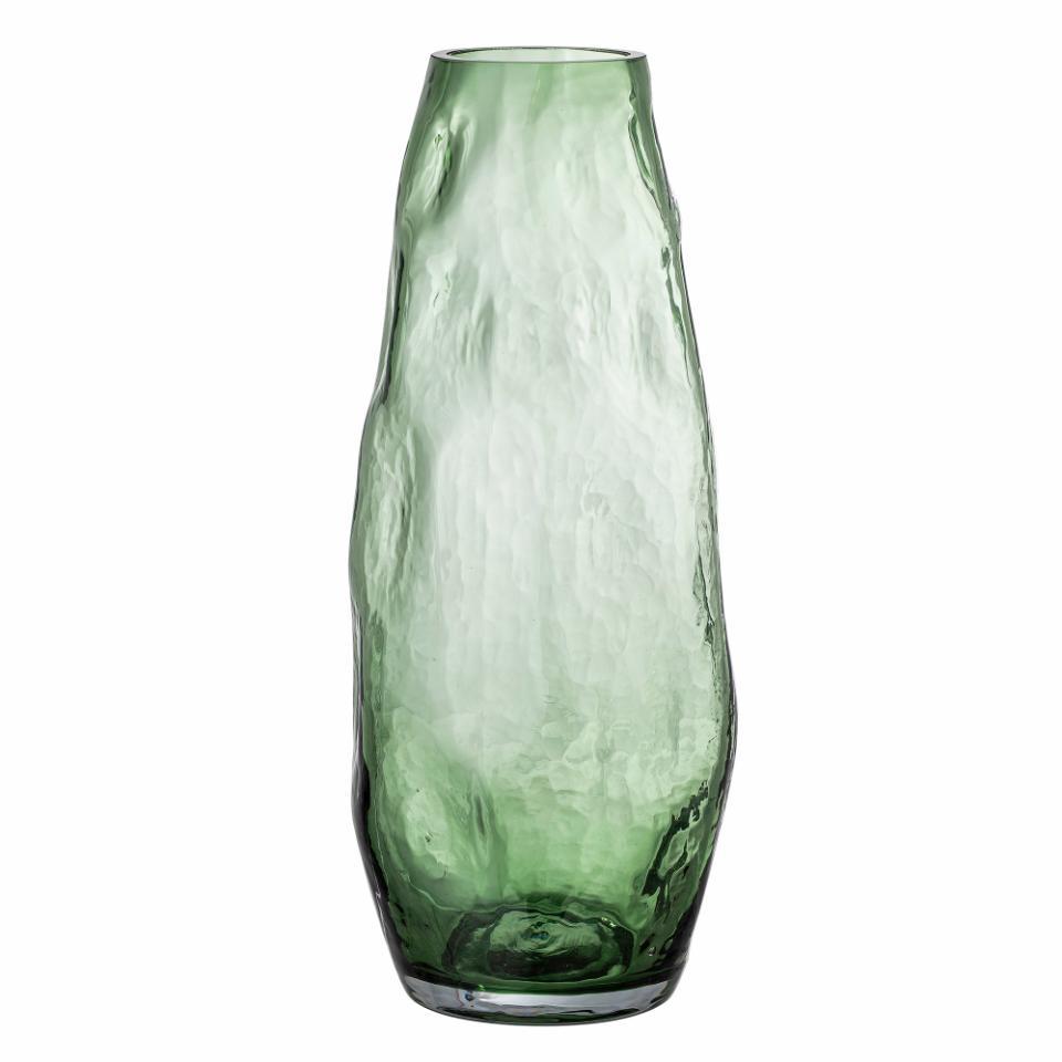 Adufe Vase, Green, Glass
