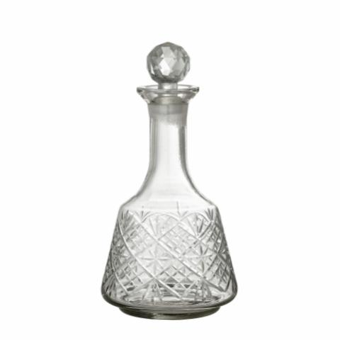 Mulki Decanter, Clear, Glass