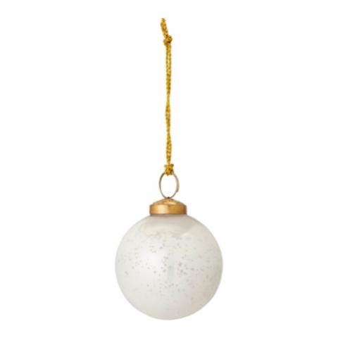 Munay Ornament, White, Glass