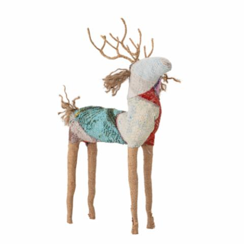 Ronn Deer, Multi-color, Paper Mache