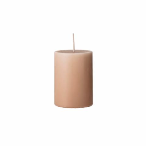 Anja Candle, Brown, Parafin