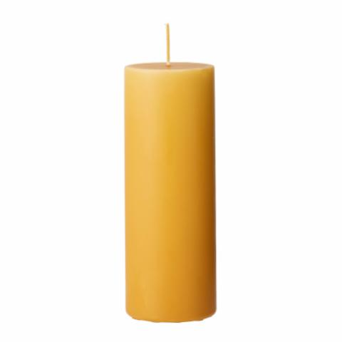Anja Candle, Yellow, Parafin
