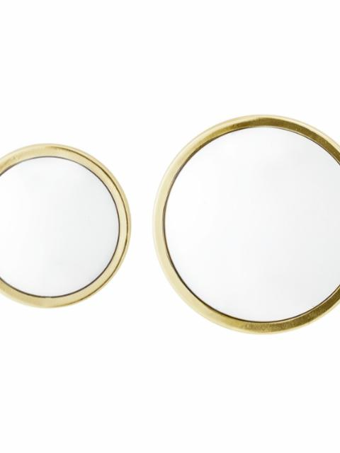 Kawar Mirror, Gold, Glass