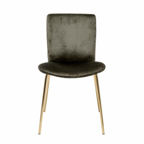 Bloom Dining Chair, Green, Polyester
