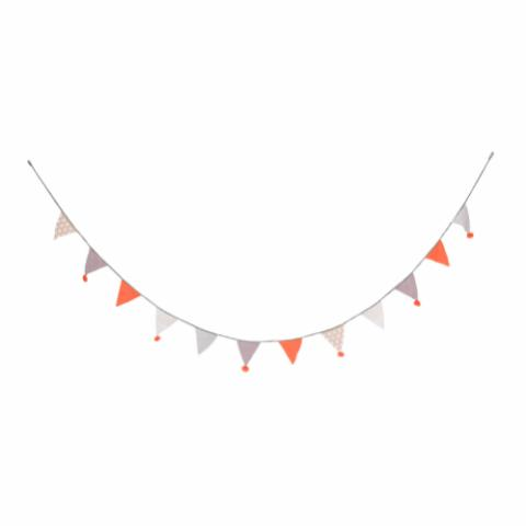 Banza Flag on string, Multi-color, Cotton